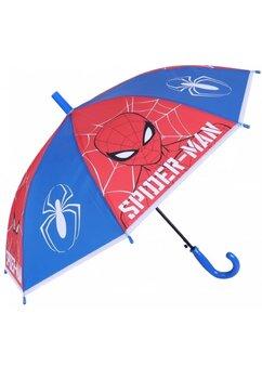 Umbrela baieti, Spider Man, rosu cu albastru