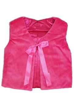 Vesta blanita, cu fundita, roz