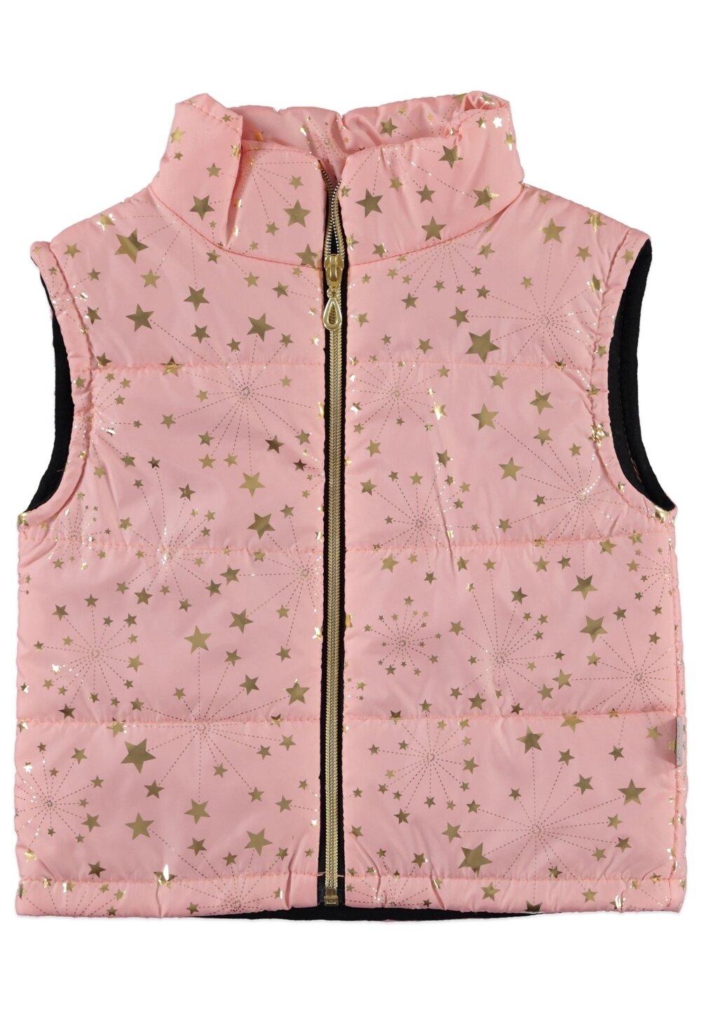 Vesta fete, roz cu stele aurii imagine