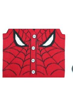 Vesta tricotata, Spider Man, rosu cu negru