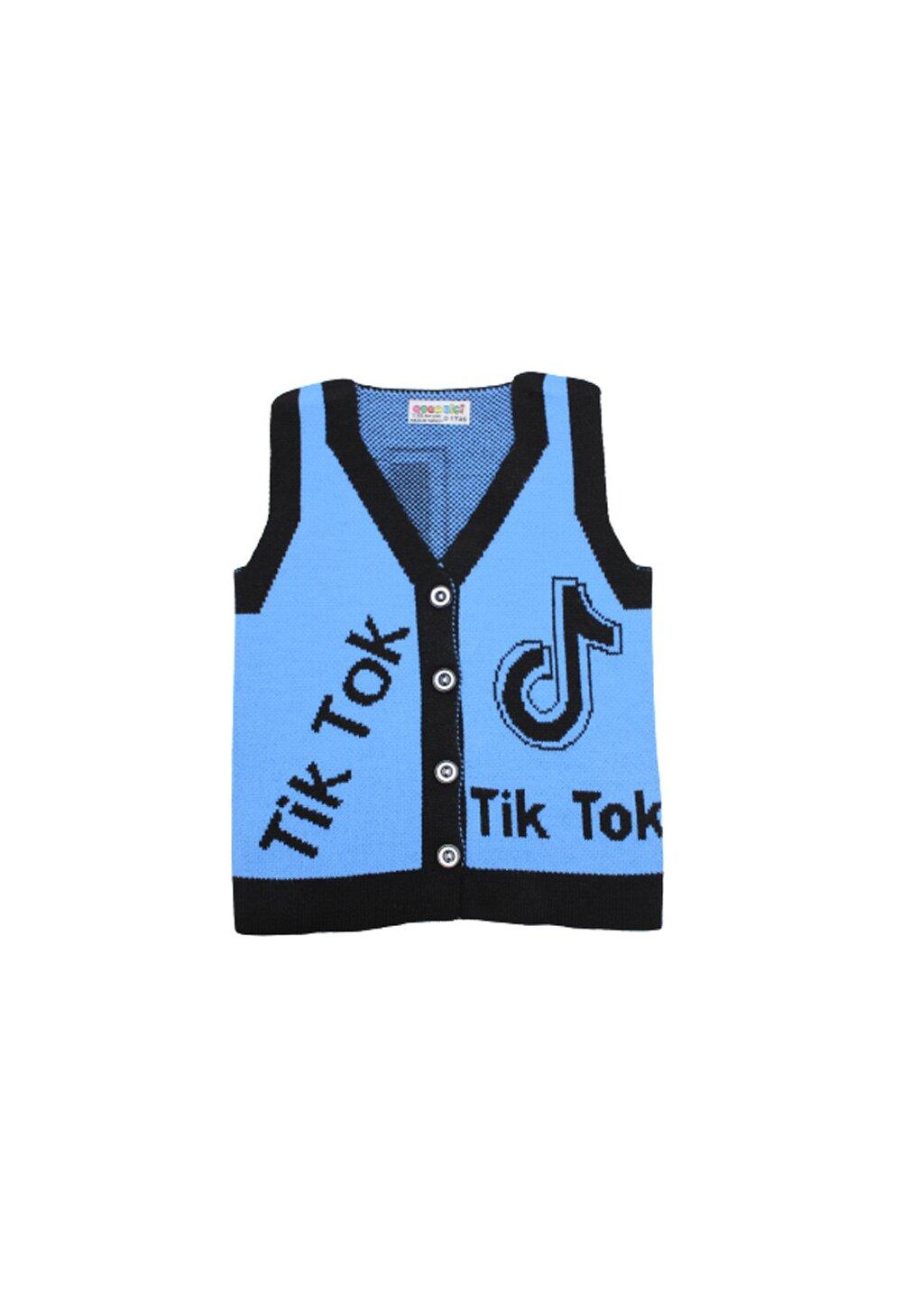 Vesta tricotata, Tik Tok, albastra