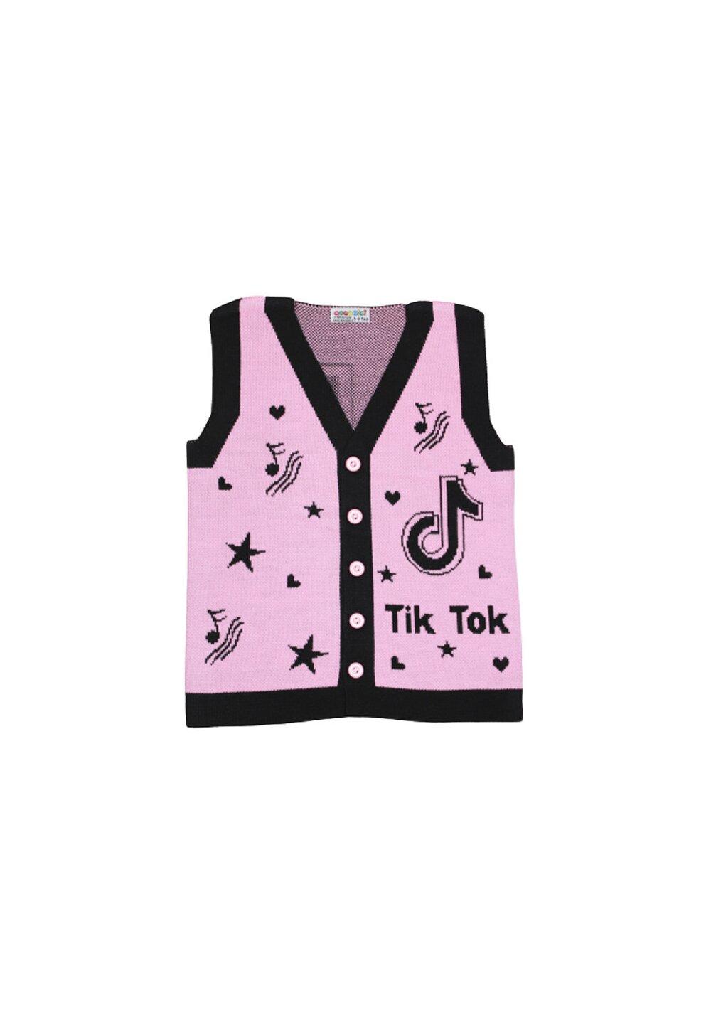 Vesta tricotata, Tik Tok, roz