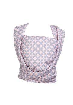 Wrap Zaffiro, roz cu romburi gri