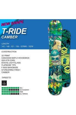 Ftwo T-Ride Camber FW1617