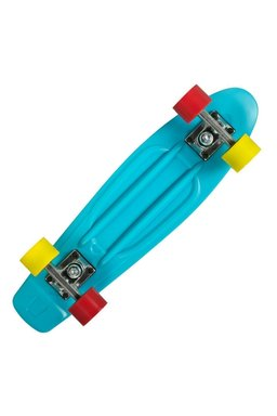 Pennyboard Playlife Vinyl Cyan 02279