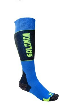 Salomon Ski New Cart Socks Blue/Yellow