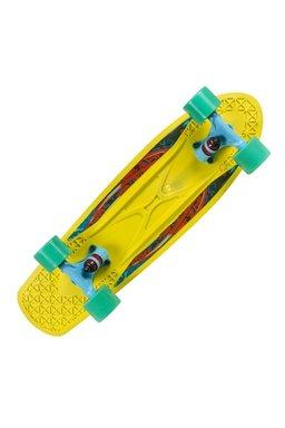 Skateboard Choke Spicy Sabrina Yellow-Blue 02238