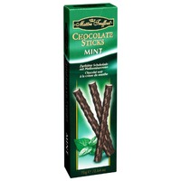 Chocolate sticks mint Maitre Truffout