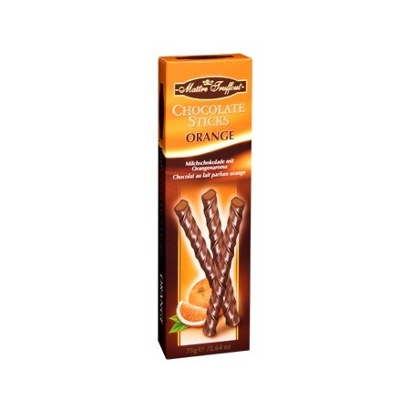 Chocolate sticks orange Maitre Truffout