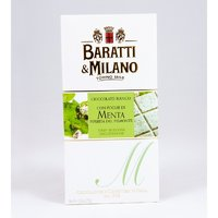 Ciocolata alba cu menta Baratti&Milano