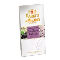 Ciocolata alba sampanie si coacaze Baratti&Milano 75gr