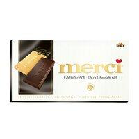 Ciocolata amaruie 72% cacao Merci 100gr