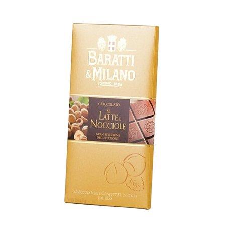 Ciocolata cu lapte si alune Baratti e Milano 100gr