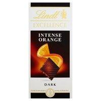 Ciocolata neagra cu portocale Lindt Excellence 100gr