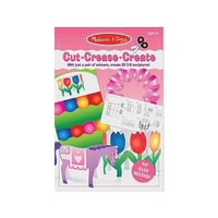 Creaza figurine din hartie - setul roz  Melissa and Doug