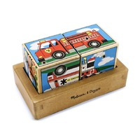 Cuburi sonore Vehicule Melissa and Doug
