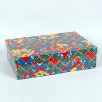 Cutii cadou cu capac Scozzese 300*200*95mm