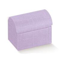 Cutii cadou tip cufere mici Seta Lilla 130*90*95mm