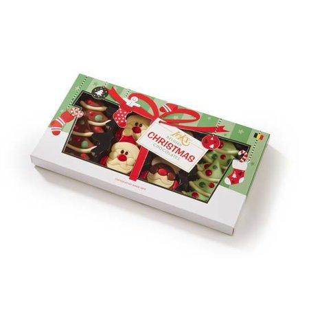 Figurine ciocolata Xmas tree/Happy Santa's