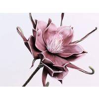 Floare din spuma aubergine
