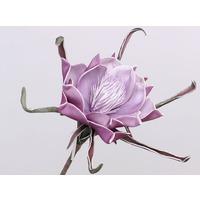 Floare din spuma violet