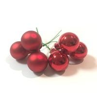 Globulete decorative rosii