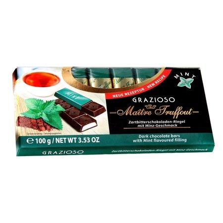 Grazioso ciocolata neagra amaruie cu crema menta