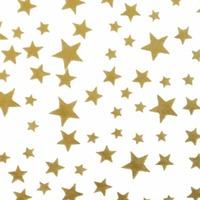Hartie de matase Gold Stars 500*760mm