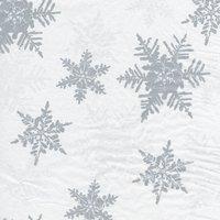 Hartie de matase Snowflakes Pearl/Silver
