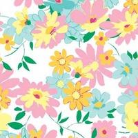 Hartie de matase Vibrant Floral