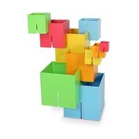 Joc de constructie Cuburi DADO Original - Fat Brain Toys