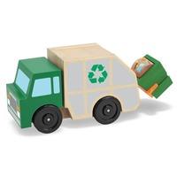 Masina de gunoi din lemn Melissa and Doug