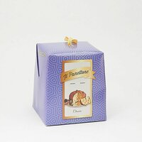 Panettone clasic in cutie mov 500gr