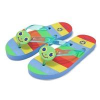Papuci de baie sau plaja copii Happy Giddy Melissa and Doug mas 26-28