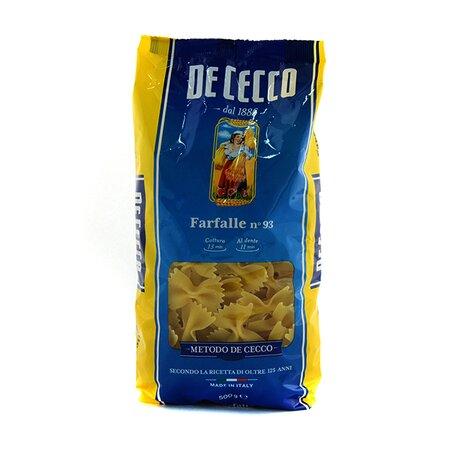 Paste farfalle De Cecco 500g