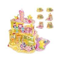 Puzzle 3D Casa, dulce casa