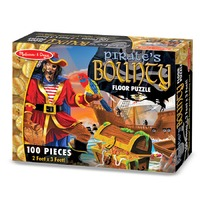 Puzzle de podea Comoara piratilor Melissa and Doug