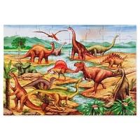 Puzzle de podea cu dinozauri Melissa and Doug