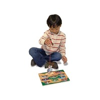 Puzzle lemn magnetic Remorcherul Melissa and Doug