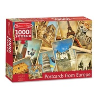 Puzzle Vederi din Europa - Melissa and Doug