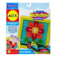 Sa coasem frumos o floare Alex Toys