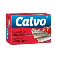 Sardine in sos de rosii Calvo 120gr