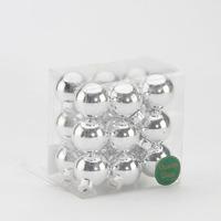 Set 18 globuri Argintiu 30mm