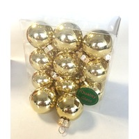 Set 18 globuri aurii