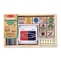 Set de stampile La scoala Melissa and Doug