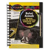 Set desen prin razuire Animale Safari Melissa and Doug