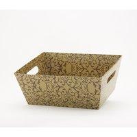 Tavita conica din carton Auriu 370*290*150mm