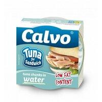 Ton pentru sandvis in sos natur Calvo 142gr
