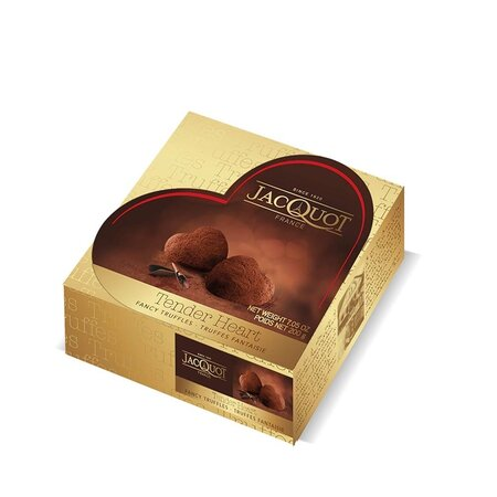 Trufe de ciocolata inimioara Jacquot 100gr