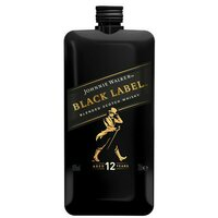 Whiskey Scotch Pocket 40% Johnnie Walker- Black Label 12YO-  0.2l